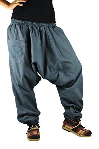 pantalones cagados virblatt con patrón reversible con entrepierna mediana  profunda talla única Unisex S - L 83e13bced344