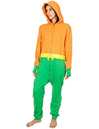 DC Comics - Ensemble de pyjama - Homme Multicolore Orange, Green, Yellow