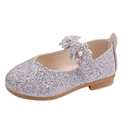 chuhe, Kind Baby Mädchen Exquisit Blume Bling Prinzessin Schuhe Tanzen Schuhe Einzelne Schuhe Freizeitschuh ()