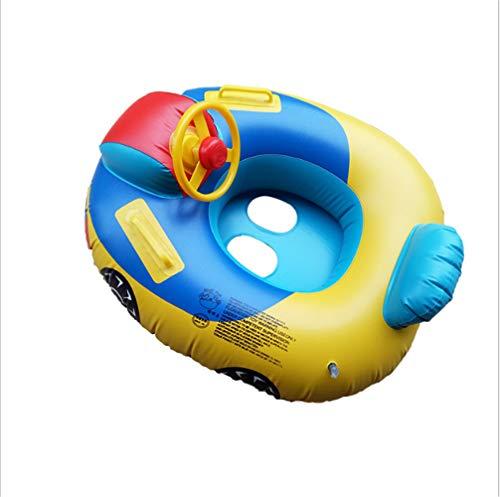FDGT Neuer Baby-Schwimmkreis Erhöhen Auto-Lenkrad Schwimmboot Babys Mit Hornsitzring