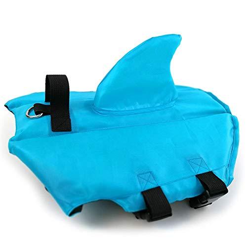 Pet Life Vest Shark Shape Bademode Antibakterielle Haut Weiche und Bequeme Sicherheitskleidung