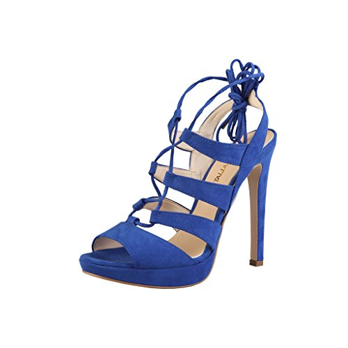 Made in Italia - Flaminia, Sandalo col tacco Donna Blu