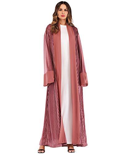 TAAMBAB Damas Mujer Vestido Musulmán Abaya - Kimonos