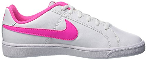 Nike Mädchen Court Royale (Gs) Turnschuhe Blanco (Blanco (White / Pink Blast))