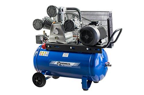 Preisvergleich Produktbild Remeza Druckluft Kompressor 5,5 kW/400 V, 10 bar, 3 Zylinder, 90 Liter Kessel, 950 l/min Ansaugleistung für Werkstatt und Industrie