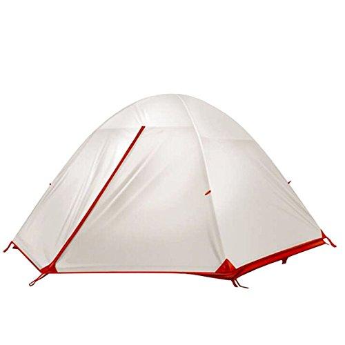 XXRHMSB Nylondoppelichtes regendichtes Campingzelt des Nylon 15D Doppeltes