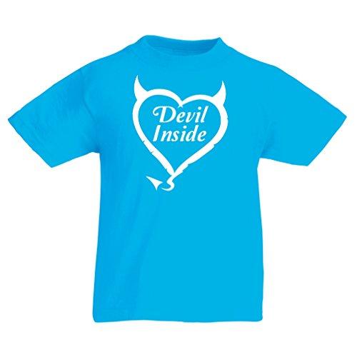 Kinder T-Shirt Devil Inside Devil Kostüme lustige Kleidung, -