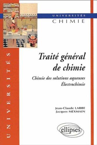 Traité général de chimie, tome 1