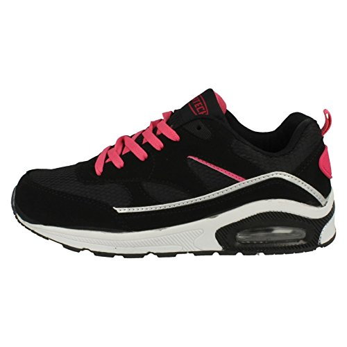 Ladies Airtech Trainer per la Corsa Black/Fuchsia