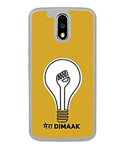 PrintVisa Designer Back Case Cover for Moto G Play (4th Gen) :: Motorola Moto G4 Play (expressive Picutre showing your Smart Thinking)
