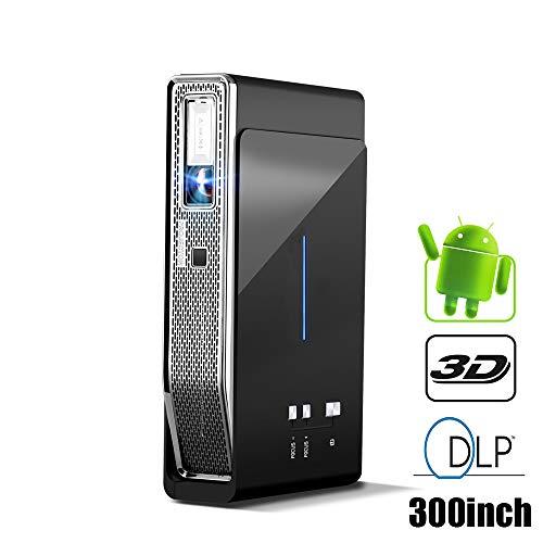 Mini Projecteur, Android 7.1 Videoprojecteur Pico Projecteur Portable...