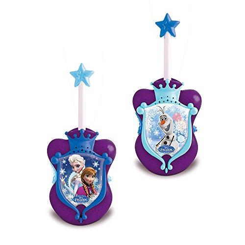 Disney, Frozen - Il Regno di Ghiaccio - Elsa , Anna walkie talkie per la bambina