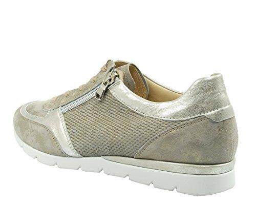 Semler  N8025774/028, Chaussures de ville à lacets pour femme Beige
