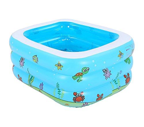 QCRLB Aufblasbare Badewanne, Kind Bath Barrel Sit Lüge Baby Bath Barrel Baby Bath Barrel Kind Collapsible Bath Barrel Aufblasbare Badewanne (größe : 105x85x42cm)