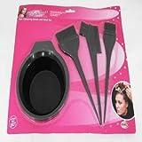 Hair Colouring Brush and Bowl Set