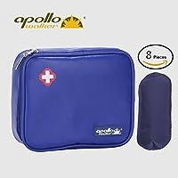 Apollo Walker Diabetes Organizer Medical Cooler Cooler temperature cooler Bolsa de viaje Mantener la medicación para la diabetes refrigerada y aislada (Grande)