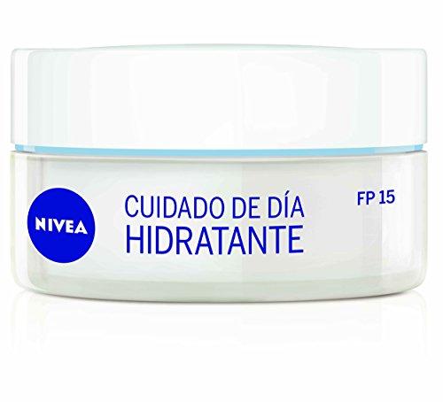 Nivea Crema Para Cara Y Rostro, Cuidado De Día Hidratante Spf15, Piel Normal - 50 Ml
