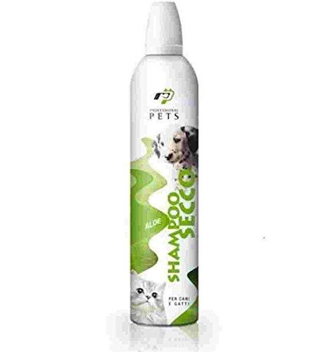 Shampoo secco cane professional pets aloe 400ml