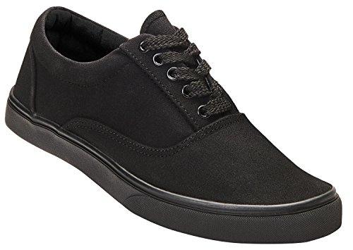 Bayside Brandit Sohle schwarz schwarzer Sneaker mit 8qq1xwUT5