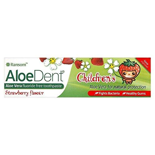 Preisvergleich Produktbild Optima Aloe Dent Kinder Coole Zahnpasta (50 ml) - Packung mit 2