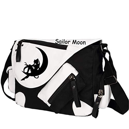 Anime Sailor Moon Tsukino Usagi Luna Artemis Rucksack mit Kordelzug Rucksack Daypack Laptoptasche Schulranzen (Tsukino Usagi Kostüm)