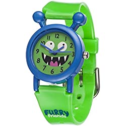 Furry Friends Blue Kooky Watch - Kids Boys Girls Fun Watches Animal
