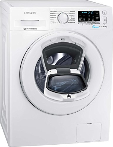 Samsung WW80K5400WW/EG Waschmaschine FL/A+++/116 kWh/Jahr/1400 UpM/8 kg/Add Wash/Smart Check/Digital Inverter Motor/weiß