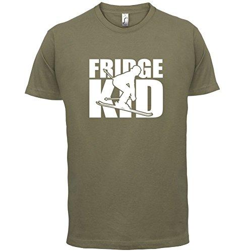 Fridge Kids Ski - Herren T-Shirt - 13 Farben Khaki