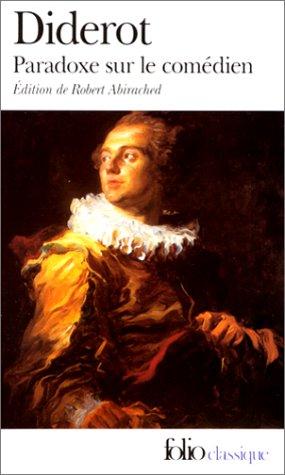 Paradoxe Sur Le Comedien (Folio (Gallimard))