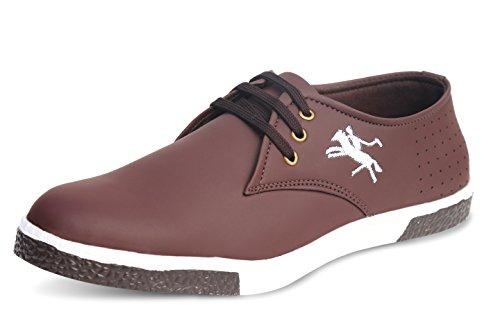 Axonza Men's Brown Casual 247 Sneaker Shoes