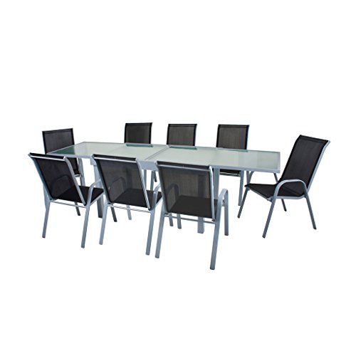 Gravidus 9-teilige Tischgruppe