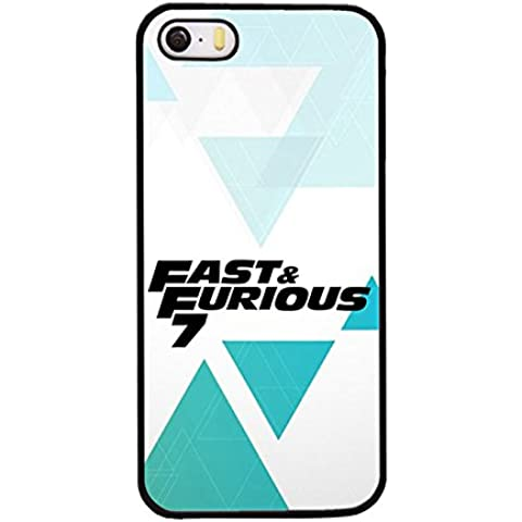 Iphone 5 & Iphone SE Casi di protezione Best Christmas Preasent For Girls, Fast And Furious 7 Slim Hard Back Fast And Furious 7 For Iphone 5 & Iphone 5S & Iphone SE Fast And Furious 7 cabina telefonica Iphone 5S & Iphone