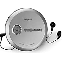 OneConcept CDC 100MP3 • Discman • Disc-Player • CD-Player • USB-Anschluß • Bassverstärkung • Anti-Schock-System • LCD-Anzeige • Formate: CD, CD-R, CD-RW und MP3-CD • In-Ear-Kopfhörer • Silber