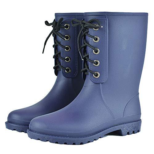 Regen Stiefel wasserdicht Mitte der Wade Regen Schuhe Rutschfeste Kurze Arbeit Stiefel Gummi stilvolle Regen Schuhe für Frauen und Männer handgefertigt Wasserdicht Arbeit Schuh
