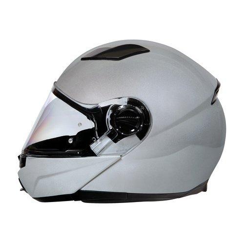 koji - Plasma, casco modulare - Argento - S