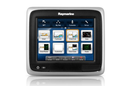 Raymarine E70163 A-Serie A67 WiFi-Touch Multifunktionsdisplay-Fischfinder ohne Seekarte 14,5 cm (5,7 Zoll)
