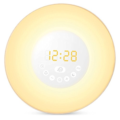 amir-upgraded-wake-up-light-1-year-warranty-6-sound-fm-radio-snooze-function-sunrise-sunset-simulati