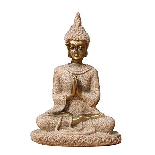 IrahdBowen Estatua de Buda de Piedra Arenisca