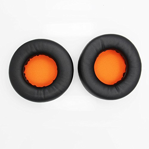 Shinecozy Premium Kopfhörer Eiweiß Leder Schaumstoff Ohr Polster, Headset Ohr Pads Ersatz Austausch Reparatur Teile(Für Razer Kraken 90MM thumbnail