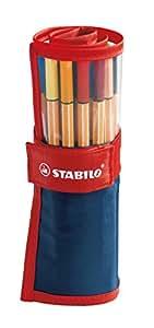 STABILO point 88 25er Rollerset - Fineliner
