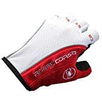 Cycling Gloves - Half Fingers by Castelli, Multi-Color - 293