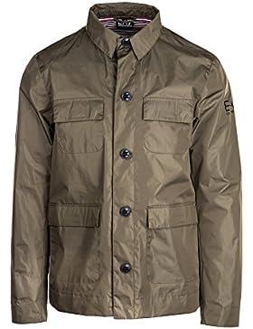 Emporio Armani EA7 cazadoras chaqueta de hombre nuevo verde