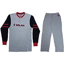 Pijama Chándal para hombre AC Milan Ropa Equipos de fútbol * 12099