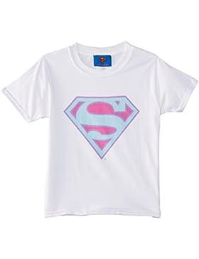 DC Universe Mädchen T-Shirt, Einfarbig