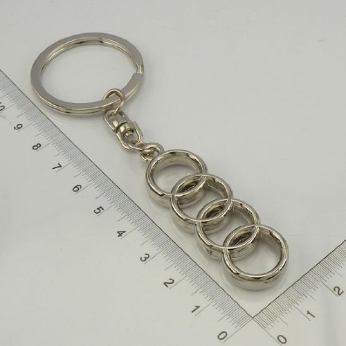 Audi 3D Emblem Keyring Key Chain. Quattro RS4 RS6 Q7 for sale  Delivered anywhere in UK