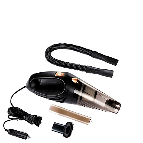 Price comparison product image JOY VALLEY Car Vacuum Cleaner, 106W 12V Portable Hand Held Wet and Dry Vacuum Cleaner with 14.7Ft Power Cord and Storage Bag
