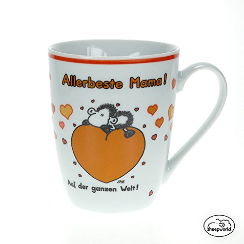 "Sheepworld 59215 Lieblingstasse ""Allerbeste Mama"", Porzellan"