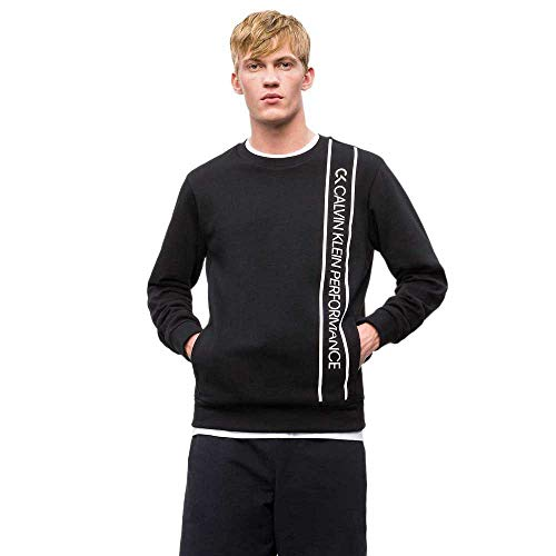 8a3d06ea876a calvin-klein Sweatshirts and Hoodies Pullover CK Black/Bright White S
