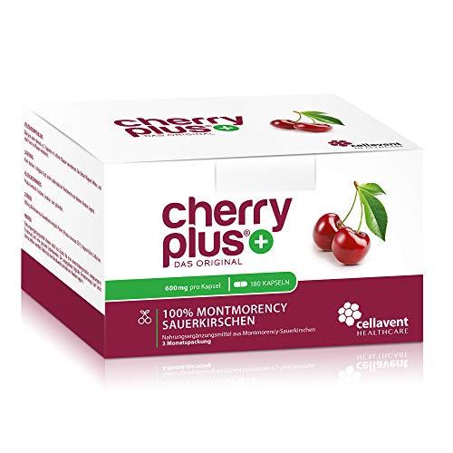 Cherry PLUS Extrakt aus der Montmorency-Sauerkirsche (600mg)