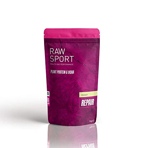 Raw Sport Vanilla Female Vegan Protein Powder with Added red maca-seabuckthor Berry-BCAA's and Digestive...